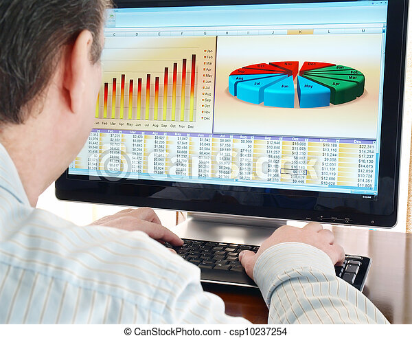 Analyzing Data on Computer - csp10237254