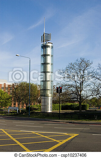 Thames Water Tower, Holland Park, L - csp10237406