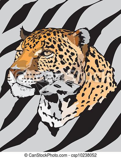 Stock Illustration - leopard - csp10238052