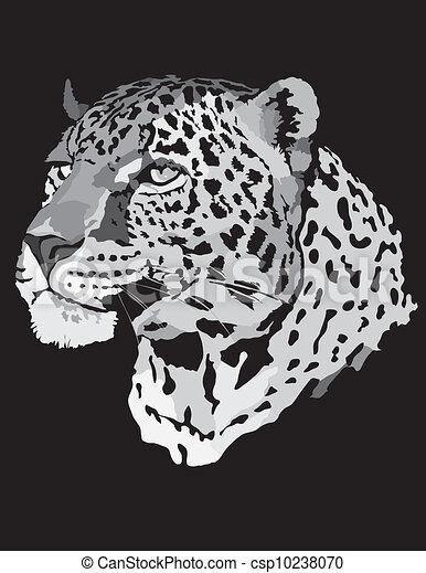 Stock Illustration - leopard - csp10238070