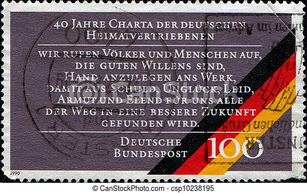 Charter of German Expellees - csp10238195