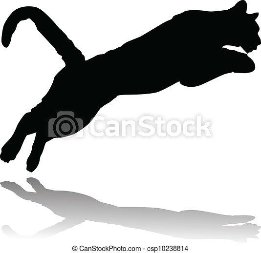 lion attacking - csp10238814
