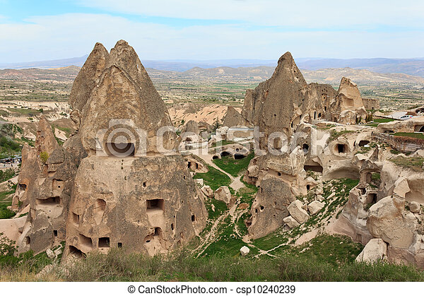 Unique geological formations, Cappadocia, Turkey - csp10240239
