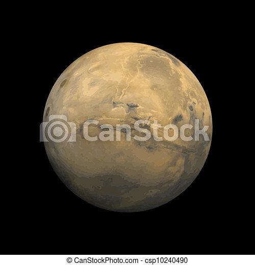 mars planet vector - photo #39