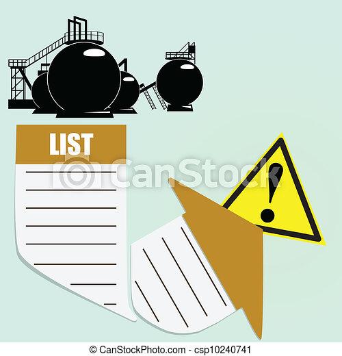 Environmental threat - csp10240741