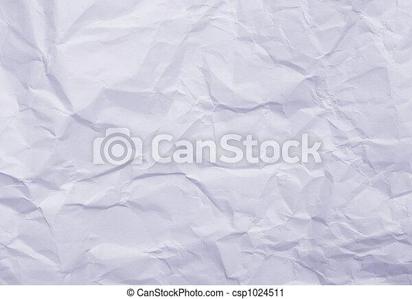 blue wrinkled paper - csp1024511