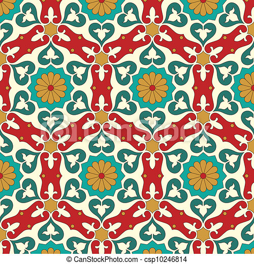 Arabic seamless pattern - csp10246814