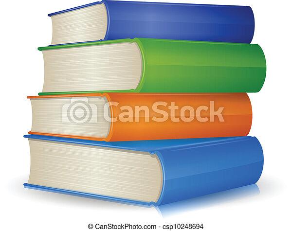 Book Stack - csp10248694