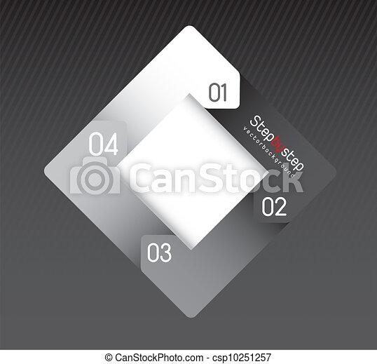 Design of advertisement numbers  - csp10251257