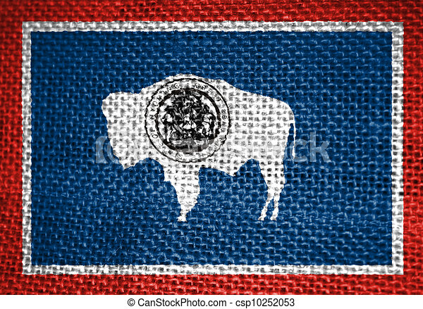 Wyoming Flag - csp10252053