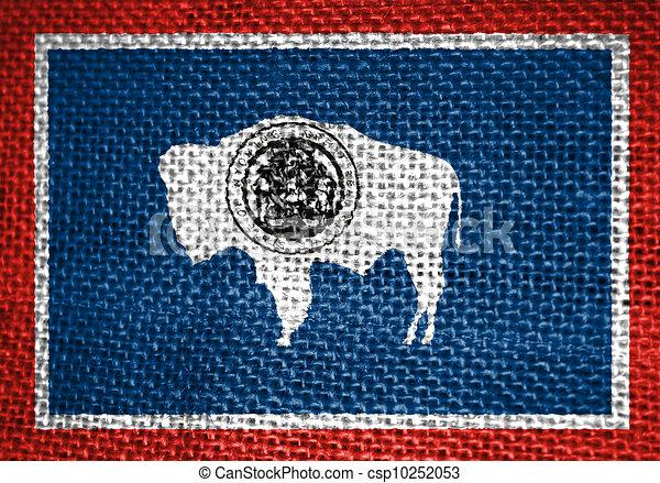 Wyoming Flag - csp10252053