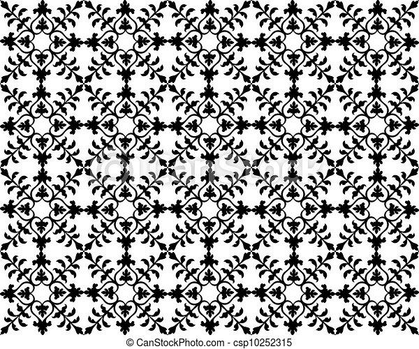 Seamless Floral Pattern - csp10252315