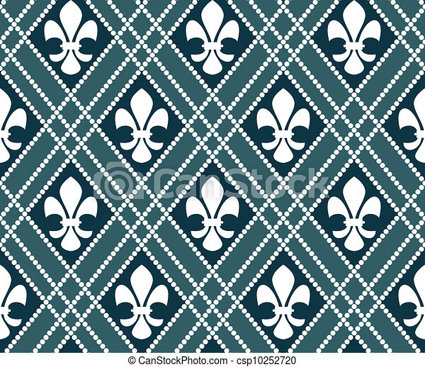 fleur de lis pattern - csp10252720