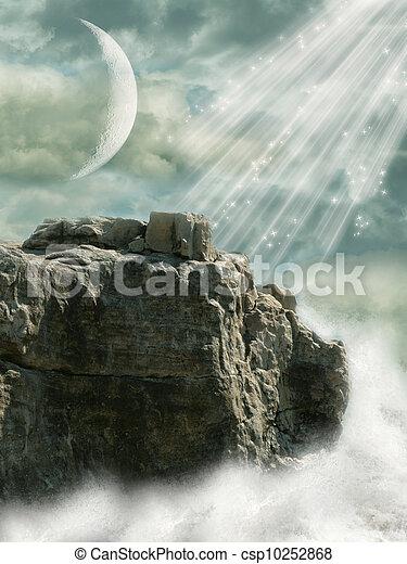 fantasie, landschaftsbild - csp10252868