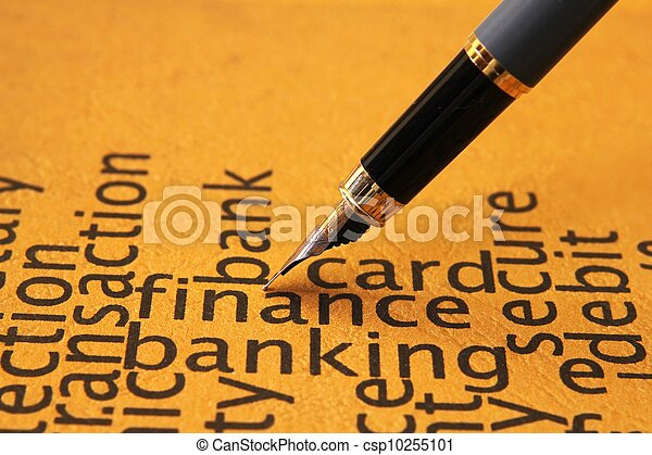 FInance and banking - csp10255101