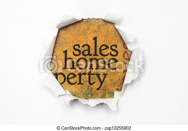 Sales and home concept - csp10255902
