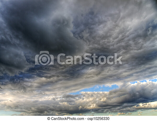 Stormy clouds - csp10256330