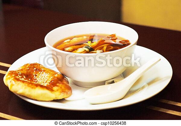 Japanese Cuisine - Miso Soup - csp10256438