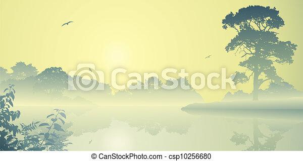 River Landscape - csp10256680