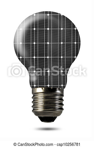 Bulb isolated on white - csp10256781