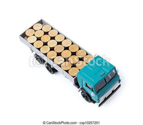 Transportation money - csp10257201