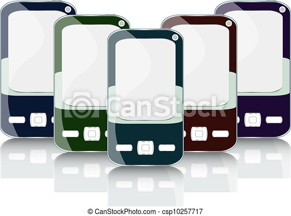 Vector smart phone cell mobile set - csp10257717