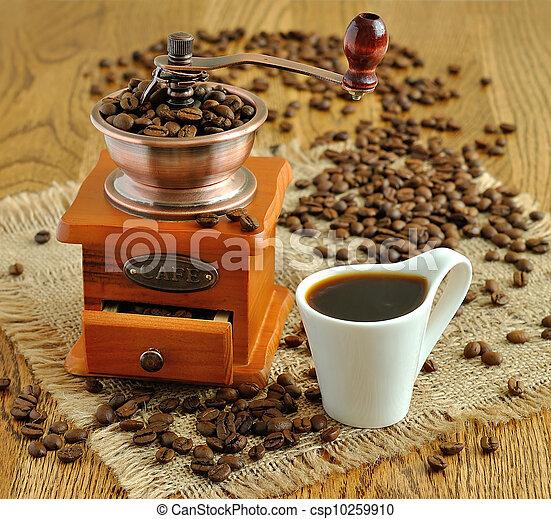 Manual coffee grinder  - csp10259910