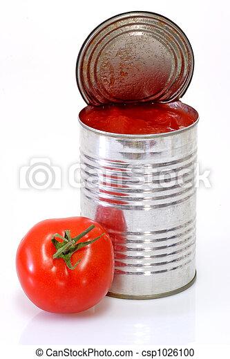 Peeled Tomatoes - csp1026100