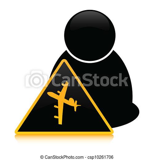 有关飞机, 图标csp10261706的矢量剪贴画-搜索剪贴