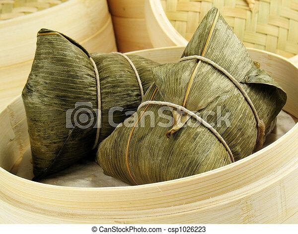 Bamboo Leaf Dumpling - csp1026223