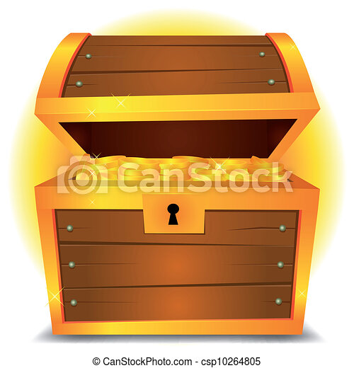Treasure Chest - csp10264805