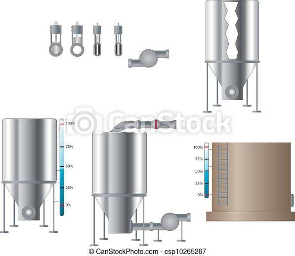 Tanks and Valves - csp10265267