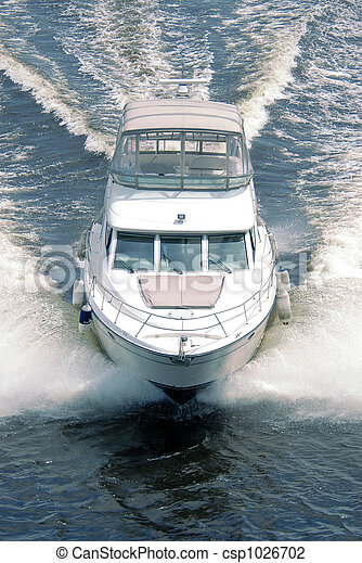 Motor boat - csp1026702