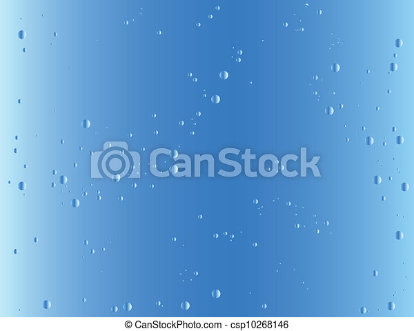 Blue gradient background - csp10268146