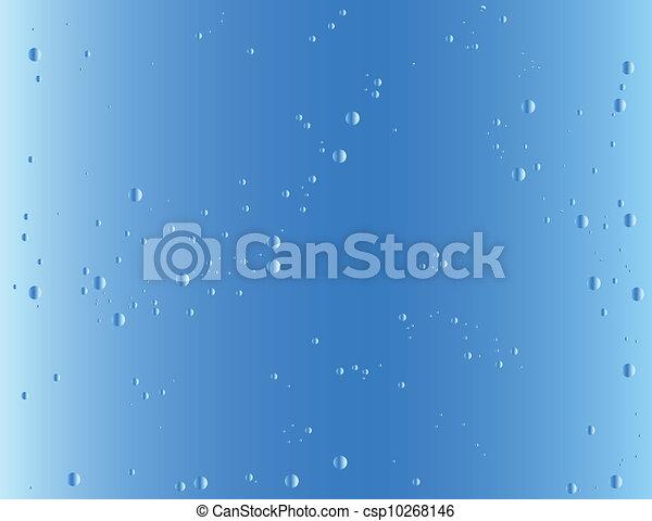 Blue gradient background - csp10268146