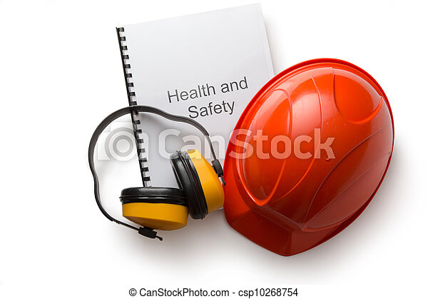 Register with earphones and helmet - csp10268754