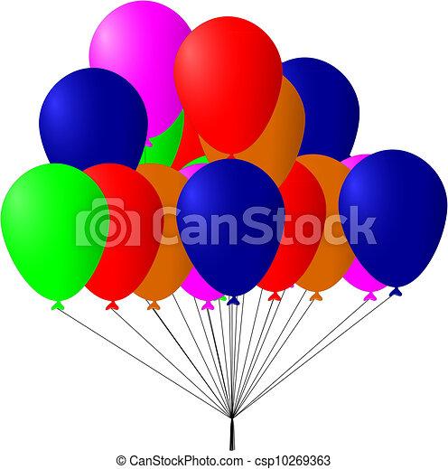 Balloons - csp10269363
