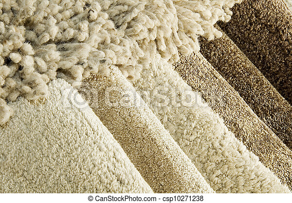 Samples of color of a carpet  - csp10271238