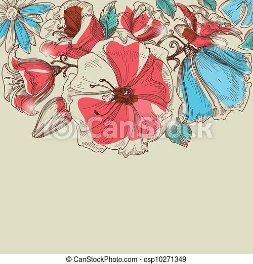Vector flowers - csp10271349