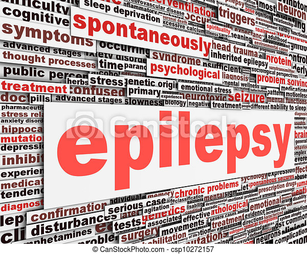 Epilepsy disorder message design - csp10272157