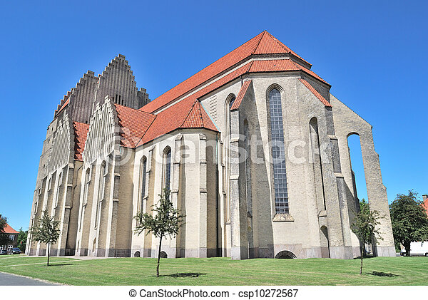 Copenhagen. Grundtvig's Church - csp10272567