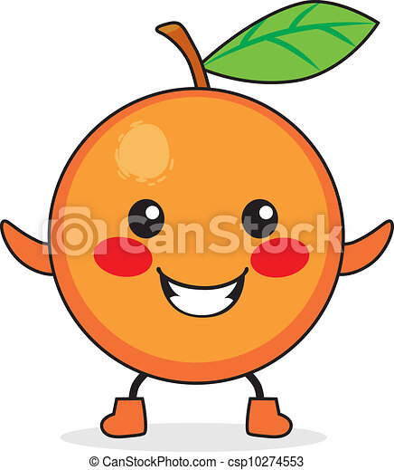 clipart vector of orange fruit cartoon cute orange fruit orange juice looking urine orange juice looking urine