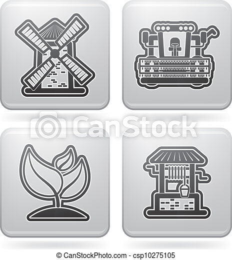Industry Icons: Agriculture - csp10275105