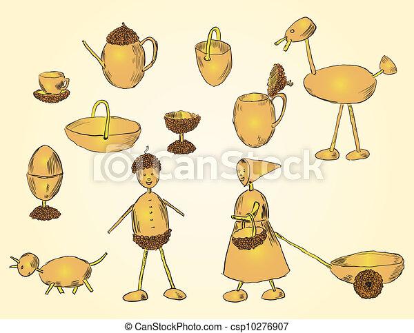 Crafts acorn - csp10276907