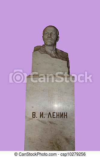 marble bust of Lenin - csp10279256