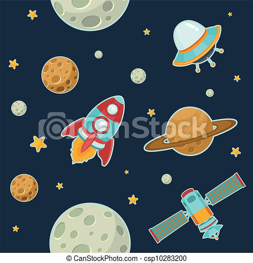 Outer space Vector Clipart Illustrations. 8,793 Outer space clip ...