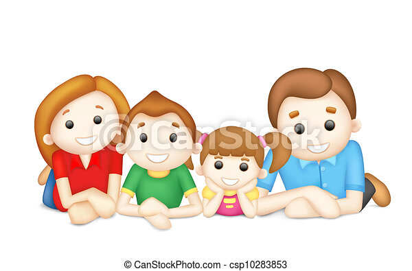 Happy Family - csp10283853