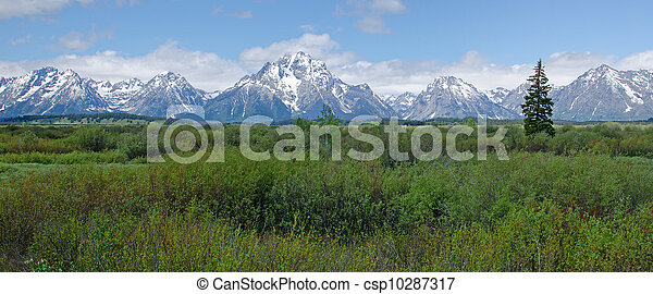 Grand Teton National Park, Wyoming, USA - csp10287317