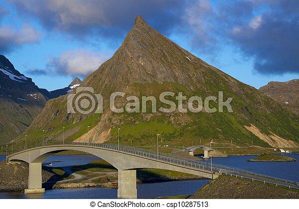 Bridges on Lofoten - csp10287513