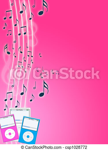 Music mp3 player - csp1028772